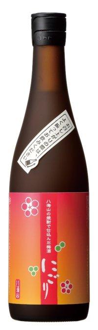 八海山の焼酎で仕込んだうめ酒にごり