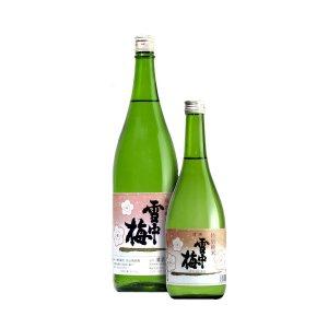 雪中梅特別純米酒